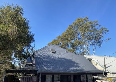 House Roof Clean and Repaint